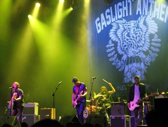 The Gaslight Anthem at the Fox last night.