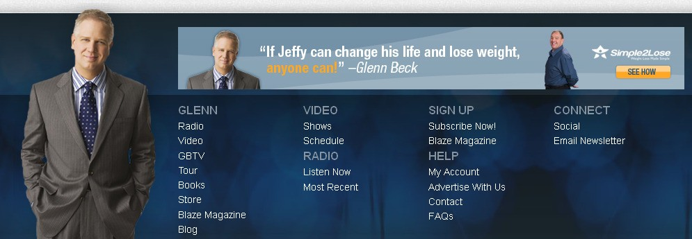 The Glenn Beck Web-Site Lottery: How Many Beck Photos Can ...