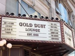 The Gold Dust, now an endangered species of San Francisco bar.