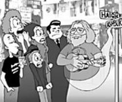 "AARON  FARMER - The ""Haunted Haight Walking Tour."""