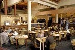 ANTHONY  PIDGEON - The Height of Urbanity: Restaurant LuLu's soaring - space still impresses.