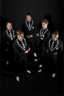 The Hives: A band that could really use 10 more producers. And wooden spoons.