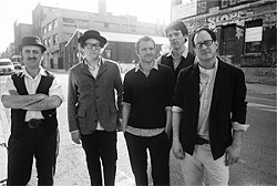 JUDSON BAKER - The Hold Steady pays homage to hangovers.