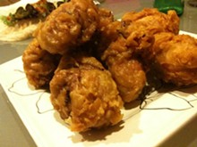 The Icon, i.e. fried chicken drumsticks. - AMBER-LEIGH/FACEBOOK