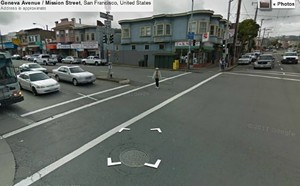 The intersection where the accident occurred - GOOGLE MAPS