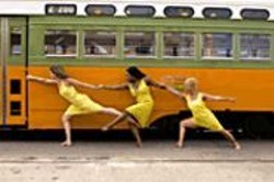 ANDY  MOGG - The ladies of Dance Brigade at Trolley Dances.