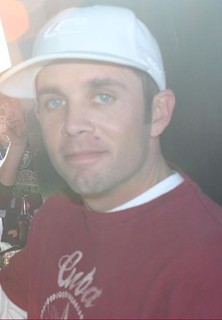 The last picture of Torrey Kretschman ever taken, shortly before his death at halftime of a 49ers game in 2007