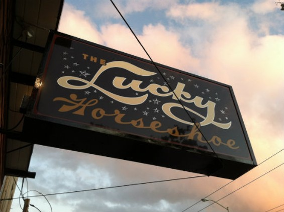 The Lucky Horseshoe, at 453 Cortland Ave. in Bernal Heights