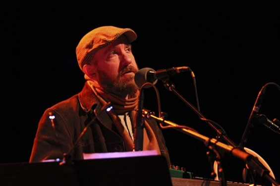 The Magnetic Fields at the Fox on Saturday. - CHRISTOPHER VICTORIO