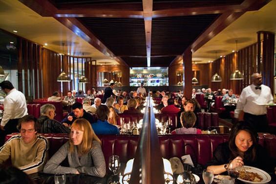 The main dining room at Original Joe's. - LARA HATA