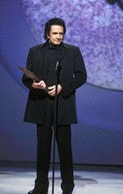 The Man, in black.