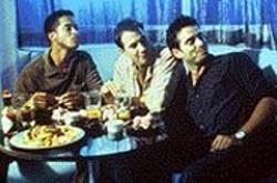 The Man Show: Johnson (Rueben - Grundy), Rand (John Livingston), - and Winston (Bruno Campos).