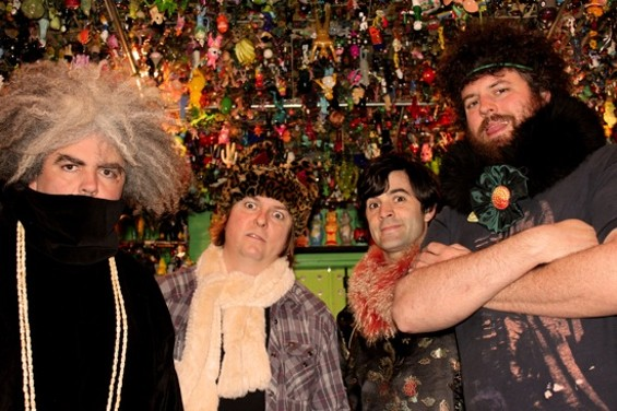 The Melvins, with Dale Crover second from left.