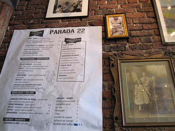 The menu freely edits the Puerto Rican canon. - ARCHIVE VICTOR/FLICKR