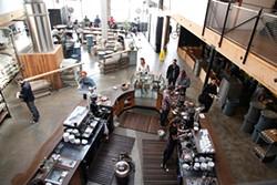 JUAN PARDO - The Mission's new Sightglass Coffee.
