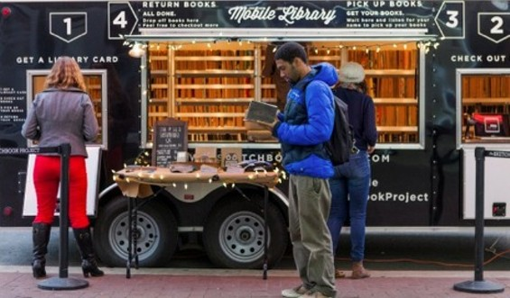 The Mobile Library comes to San Francisco to inspire (and blow) a few minds...