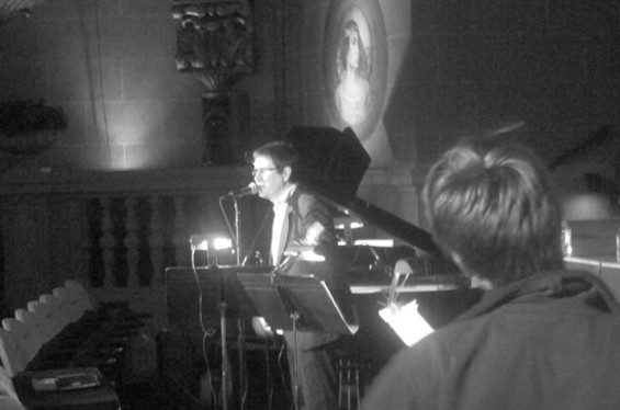 The Mountain Goats at the Castro Theatre last night. Pics by Chris.