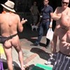 Castro Theatre Manager Freaks Out Public Nudists, Journalist (Video)