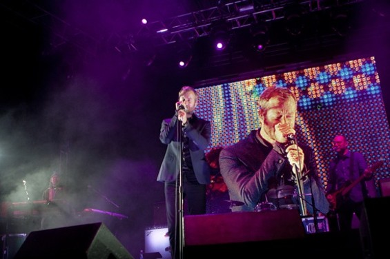 The National performing this past Sunday at the Treasure Island Music Festival - CHRISTOPHER VICTORIO