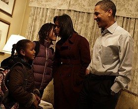 The Obama Family - VIA: OBAMA-BIDEN TRANSITION PROJECT