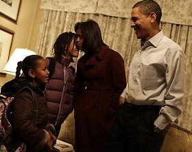 The Obama Family - VIA: OBAMA-BIDEN TRANSITION PROJECT
