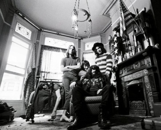 The original Grateful Dead at home in San Francisco: 710 Ashbury St., to be exact.