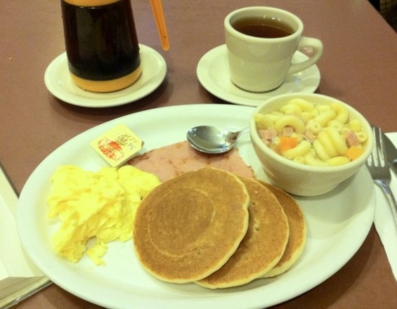 The Pacific Court house breakfast, $3.65. - JONATHAN KAUFFMAN