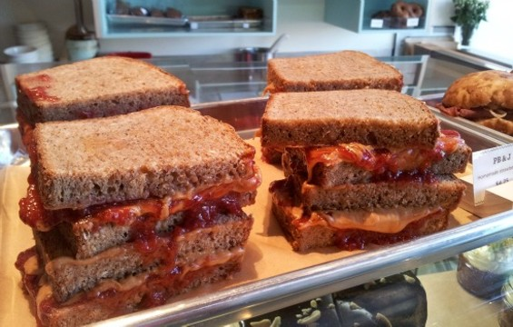 The PB&J at Flour & Co. - PETE KANE