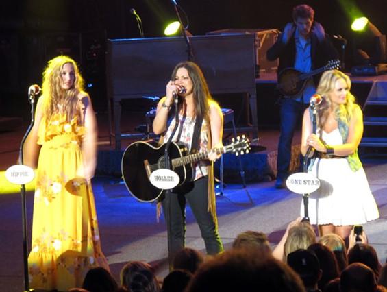 The Pistol Annies: Ashley Monroe, Angaleena Presley, and Miranda Lambert - ALAN SCHERSTUHL