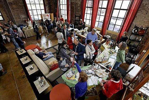 The pop-up market brings together chefs and food artisans. - MICHAEL MACOR/CHRONICLE