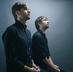 AUTUMN DE WILDE - The Postal Service's Ben Gibbard and Jimmy Tamborello