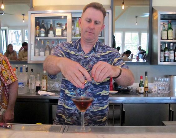 The Presidio Social Club's Tim Stookey. - LOU BUSTAMANTE