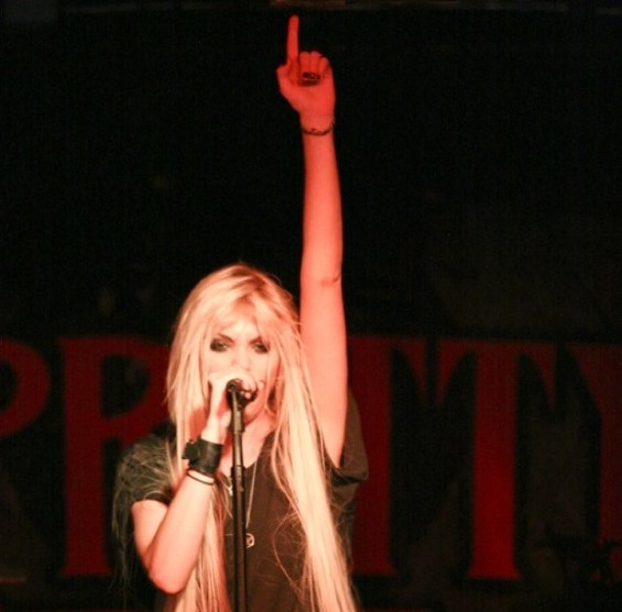 The Pretty Reckless at Bottom of the Hill last night. - CHRISTOPHER VICTORIO