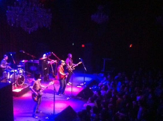 The Promise Ring at the Fillmore on Saturday