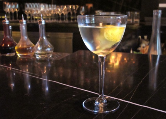 The Quince Martini - LOU BUSTAMANTE
