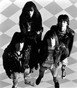 GEORGE  DUBOSE - The Ramones: We're a happy family -- sometimes.