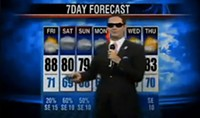 The rapping weatherman brings it ... to San Francisco