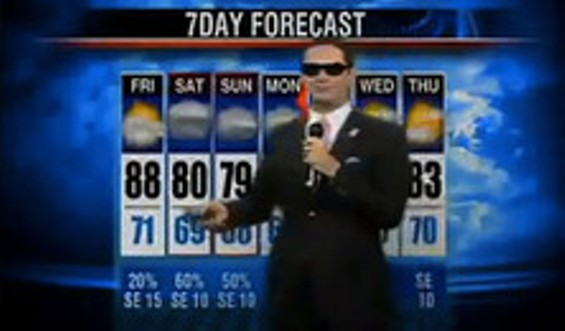 The Rapping Weatherman is M.I.A.