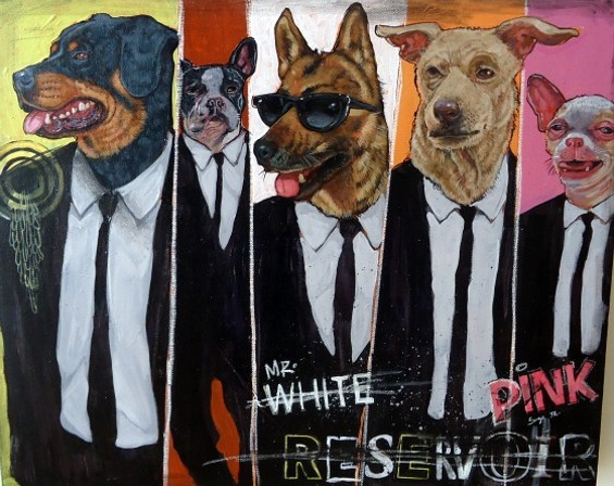 The Reservoir Dogs, courtesy of San Francisco's Serge Gay, Jr. - KATE CONGER