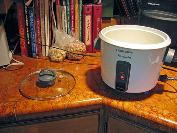 The rice cooker became an essential appliance in American kitchens. - ALEX.SHULTZ/FLICKR