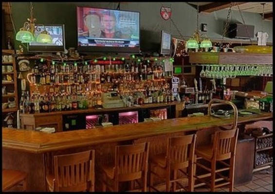 The sad bar from Mystery Diners.