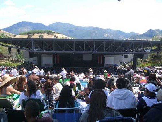 The sale of KBLX ended the station's music fests. - DOUGLAS ZIMMERMAN