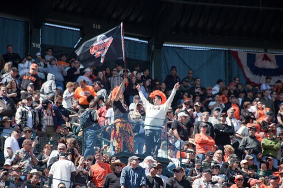 The San Francisco Giants had their home opener on Friday, April 8, taking on the St. Louis Cardinals in front of a sold-out crowd at AT&T park.