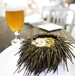 JEN SISKA - The sea urchin is dangerous outside, delicious within.