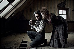 ©WARNER BROS. - The serial klller and his accomplice: Depp and Bonham Carter.