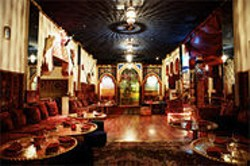 JEN SISKA - The service and the food actually overwhelm the kitsch at Marrakech.