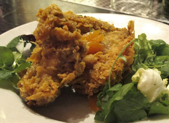 The Sesame Fried Chicken - LOU BUSTAMANTE