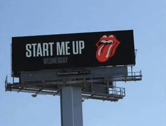 The S.F. billboard