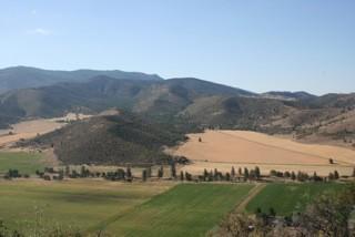 The Shasta Valley farm. - BELCAMPO MEATS
