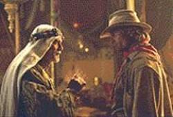 RICHARD  CARTWRIGHT - The Sheik and the Cowboy: Omar Sharif - and Viggo Mortensen ham it up manfully.